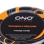 Handgemachte Massagekerzen von Ono