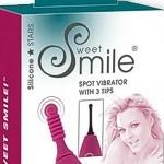Sweet Smile Spot Vibrator mit 3 Aufsätzen