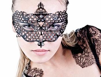 Venezianische Masken für   geheimnosvolle Spiele