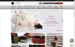 Screenshot EUFORY der BDSM- und Fetishstore