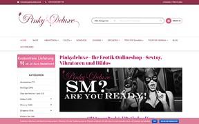 Screenshot Pinkydeluxe Erotik Onlineshop