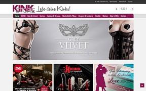 Screenshot KINKSTORE.de