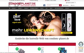 Screenshot Condom-Planet.de